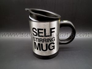 Self stirring mug 11,0 x 9,0 cm.